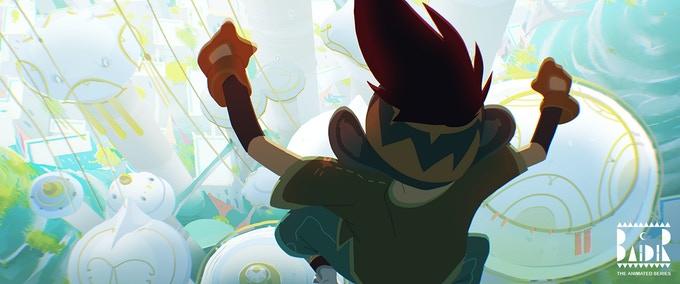 Baïdir série d'animation française Ankama Andarta Kickstarter Teaser Trailer