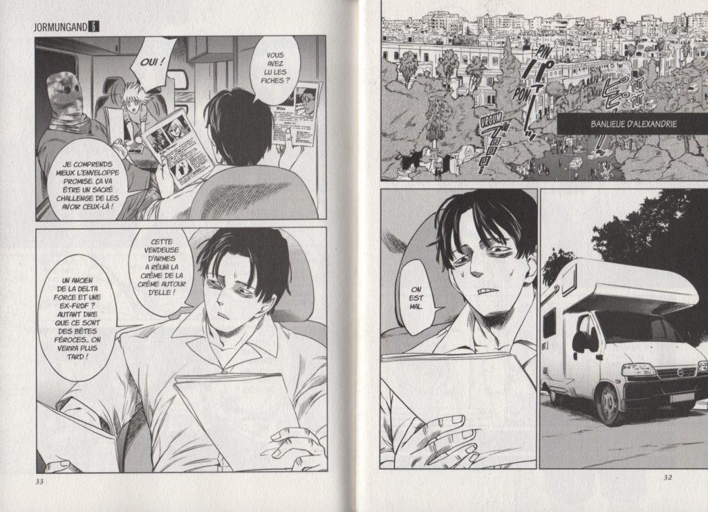 Extrait Tome 6 Jormungand Keitaro Takahashi Meian Editions