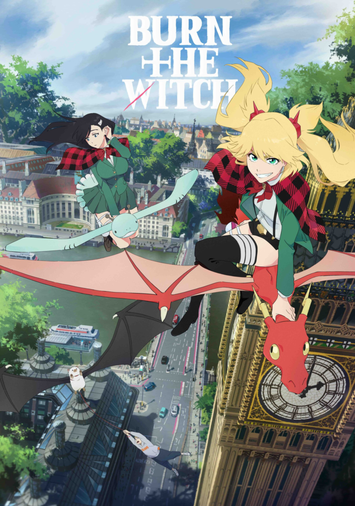 Burn The Witch Tite Kubo Studio Colorido Bleach Trailer Crunchyroll Visuel