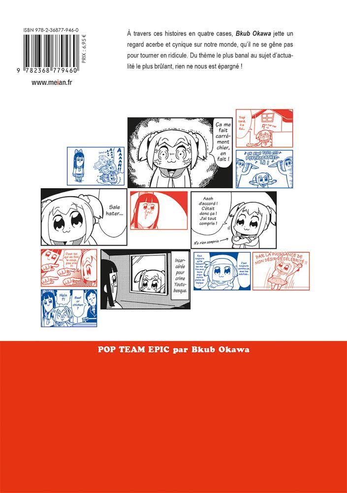 Pop Team Epic Meian Edition Daitan! Bkub Okawa