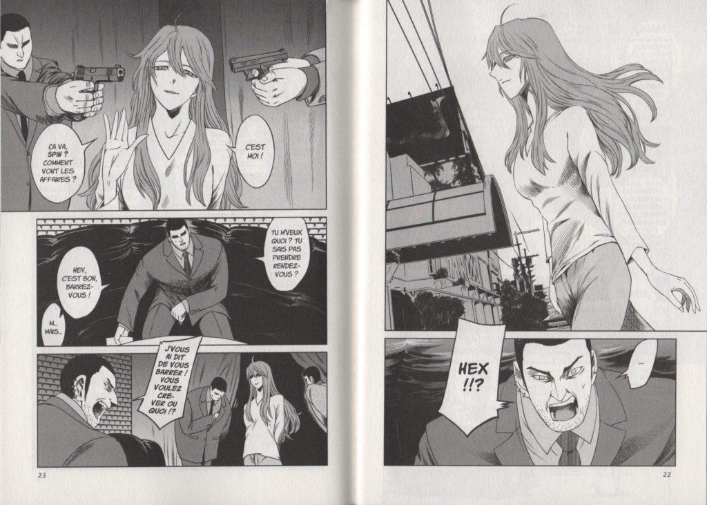 Extrait Jormungand Tome 7 Les Trésors du Nain Meian Edition Keitaro Takahashi