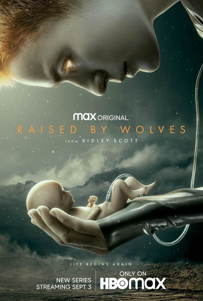 Affiche Raised by Wolves Ridley Scott HBO Max Travis Fimmell