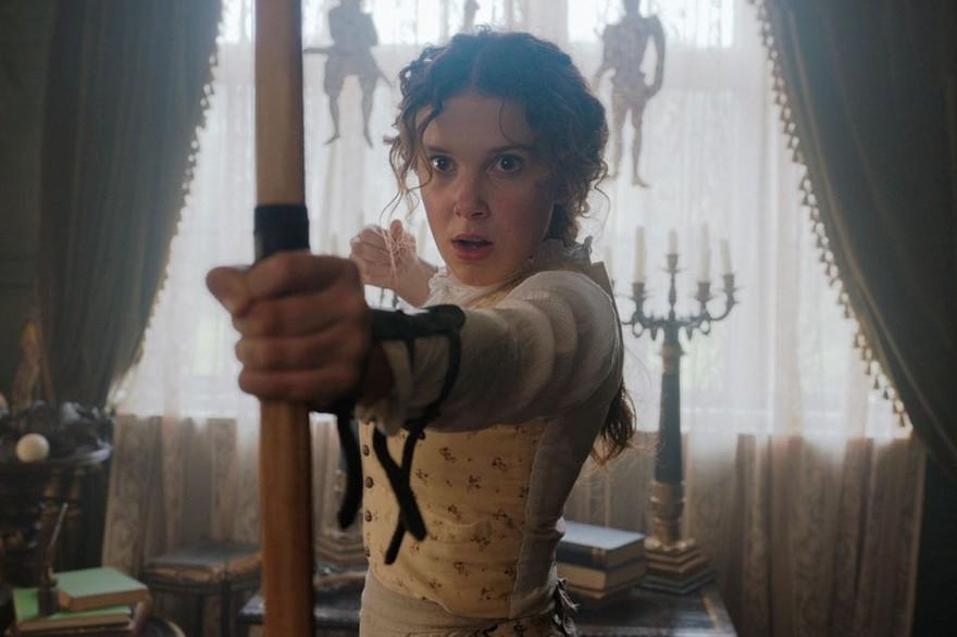 Millie Bobby Brown Enola Holmes Netflix Teaser Date