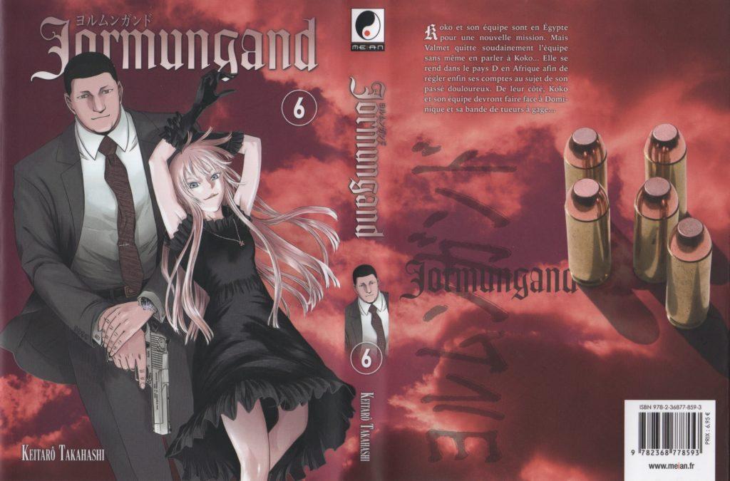 Jaquette Jormungand Tome 6 Meian Editions Keitaro Takahashi Les Trésors du Nain