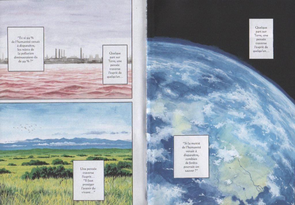 Pages couleurs Parasite Réédition Édition originale Tome 1  Glénat Hitoshi Iwaaki