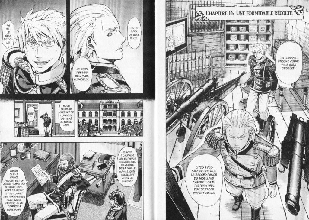 Extrait Baltzar La Guerre dans le Sang Nakajima Michitsune Meian Edition