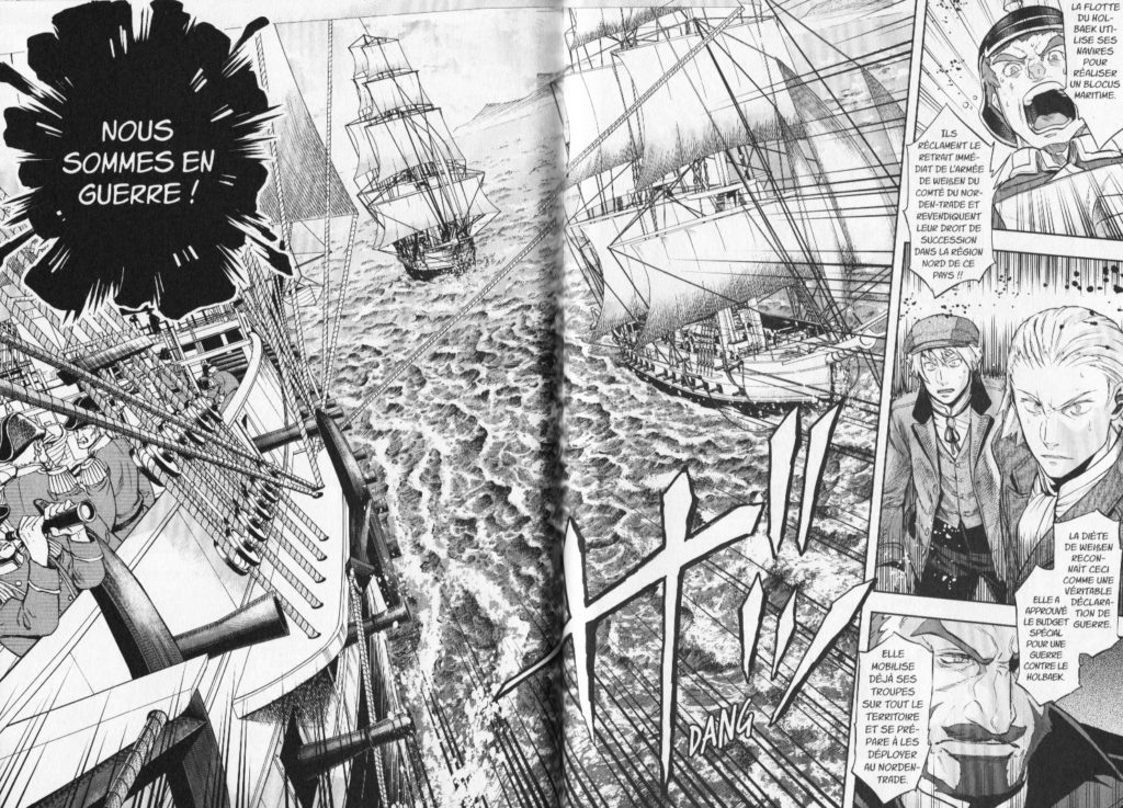 Couverture Baltzar La Guerre dans le Sang Nakajima Michitsune Meian Edition