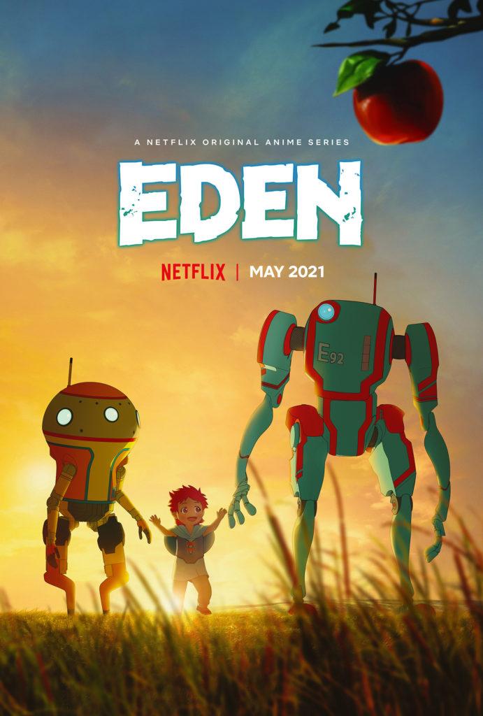 Eden Netflix Yasuhiro Irie Justin Leach Trailer Anime Mai 2021