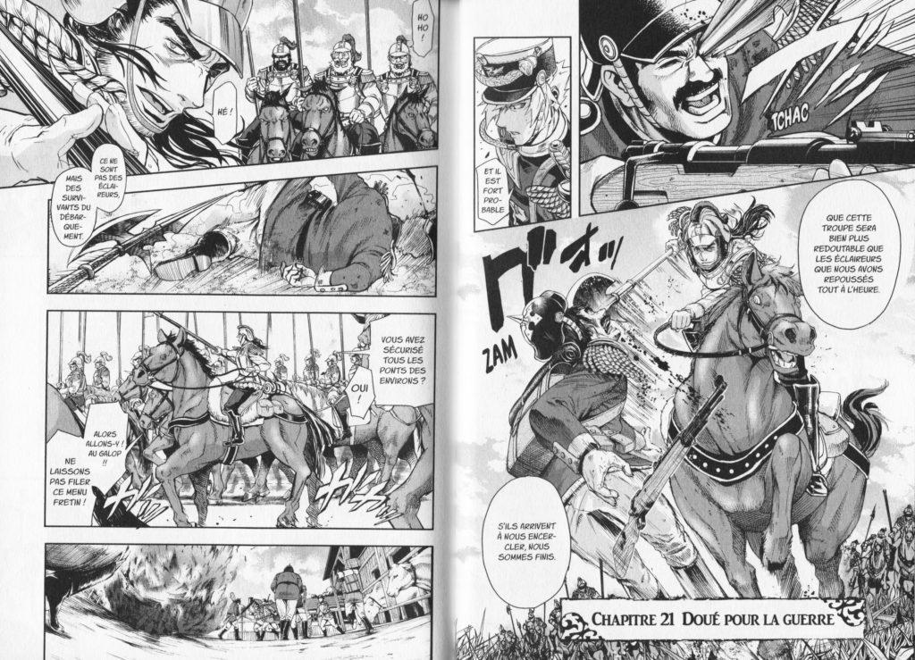 Baltzar la guerre dans le sang tome 5 Les Trésors du Nain Meian Editions Nakajima Michitsune extrait