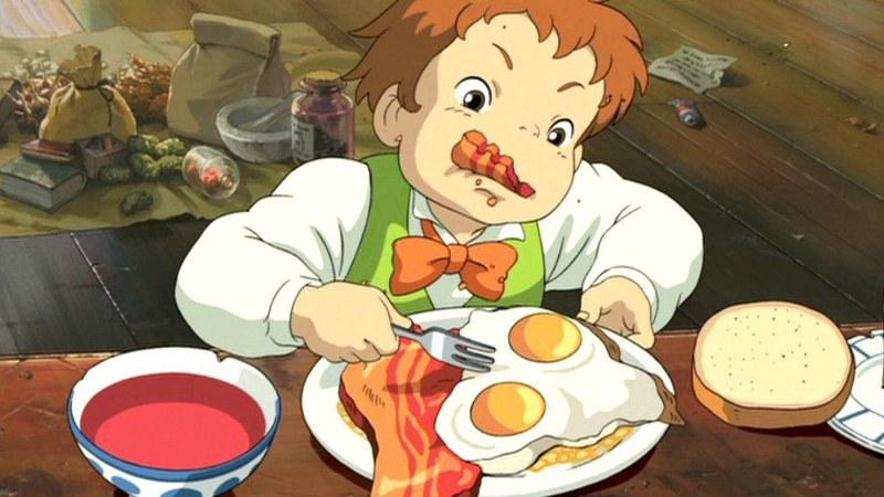 Les recettes des films du studio Ghibli.