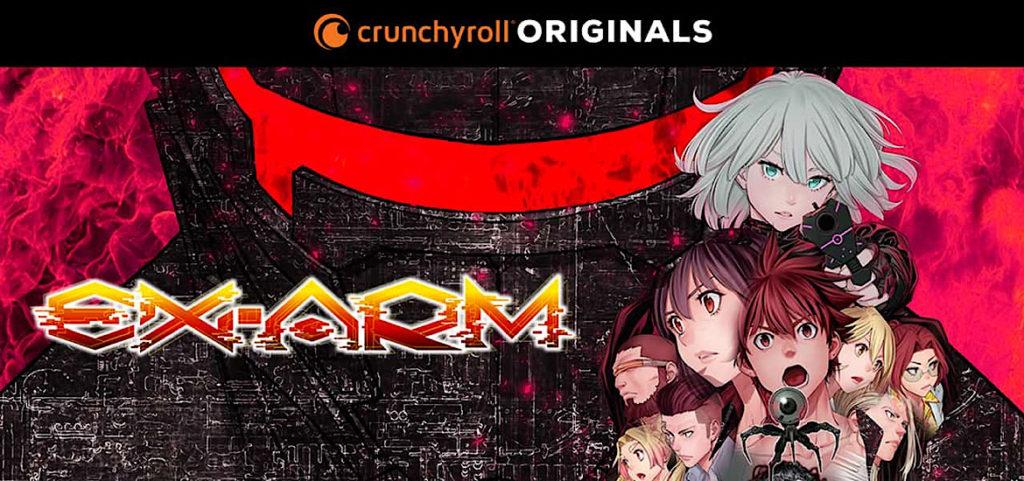 Ex-Arm Trailer Crunchyroll Originals Visual Flight HiRocK Shinya Komi
