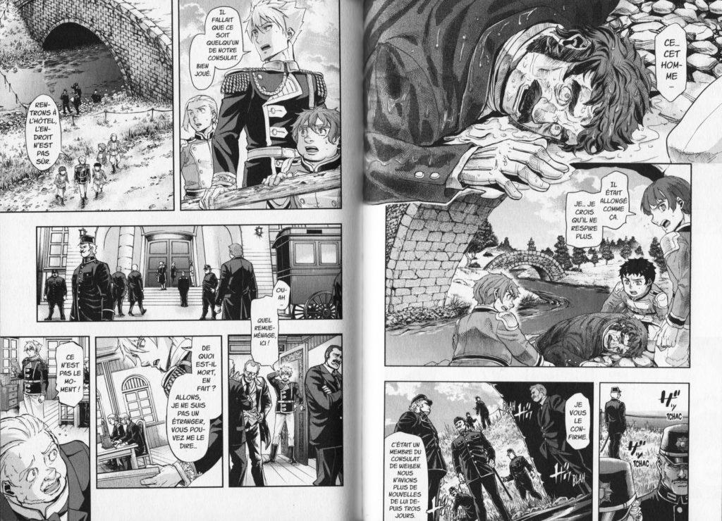 Les Trésors du Nain Baltzar la guerre dans le sang tome 6 Meian Edition Nakajima Michitsune Extrait