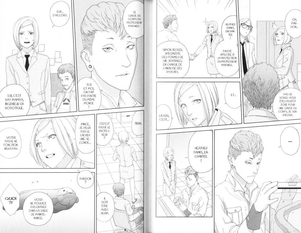 Extrait Les Trésors du Nain Adam L'ultime Robot Tetsuwan Adam Ryuko Azuma Tome 1 Pika edition