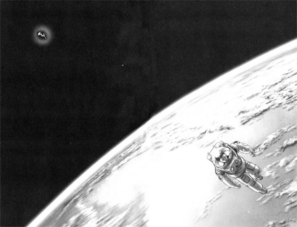 Extrait Planètes Makoto Yukimura Panini