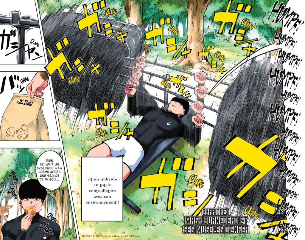Mashe Extrait Chapitre 1 Kazé Komoto Hajime Weekly Shonen Jump