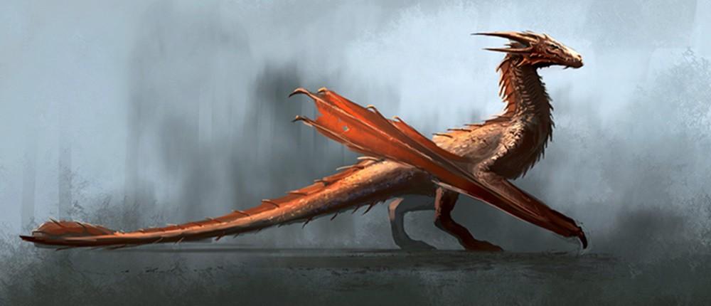 Feux du Soleyl Aegon Targaryen Dragon House of Dragon Artwork