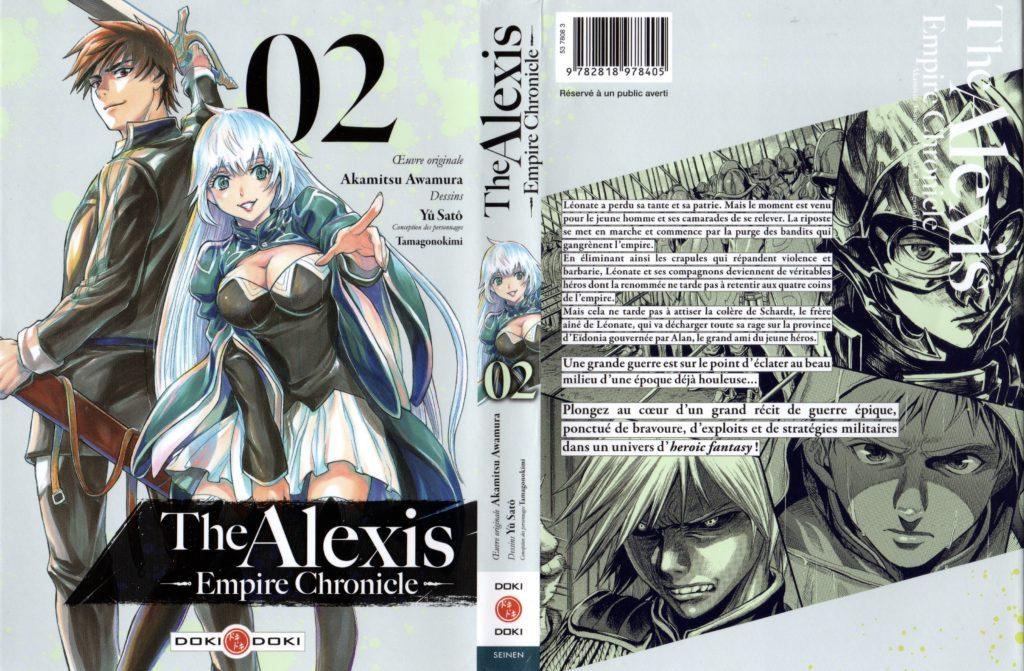 Jaquette Les Trésors du Nain The Alexis Empire tome 2 Doki Doki Edition Avis Critique