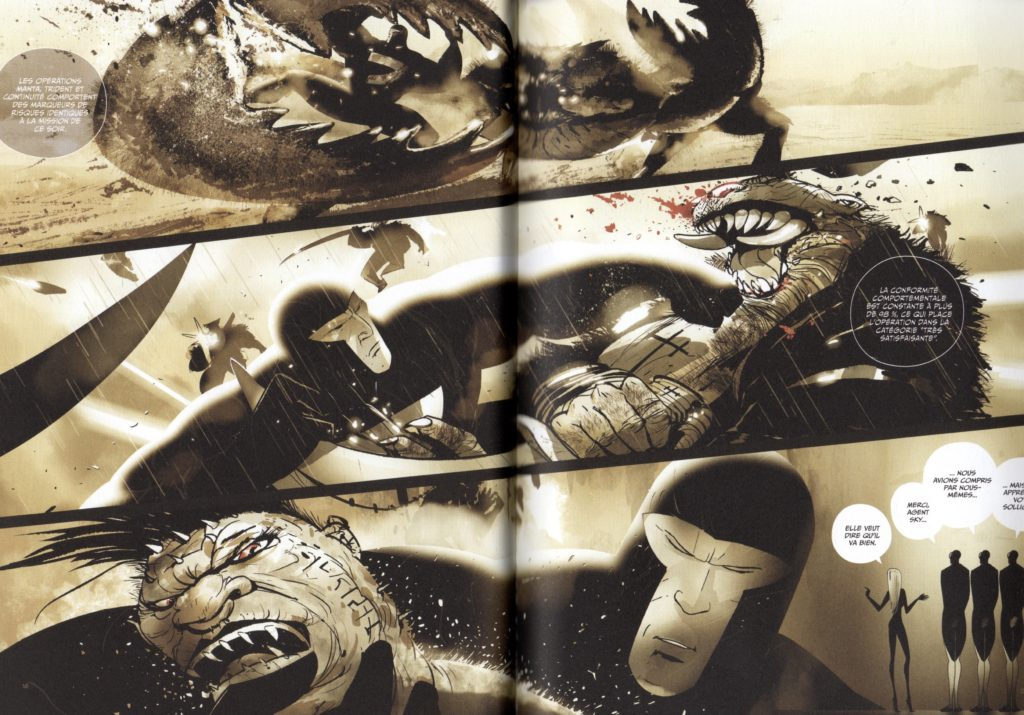 Extrait tome 1 Black Fury La Griffe du Styx Maho Edition