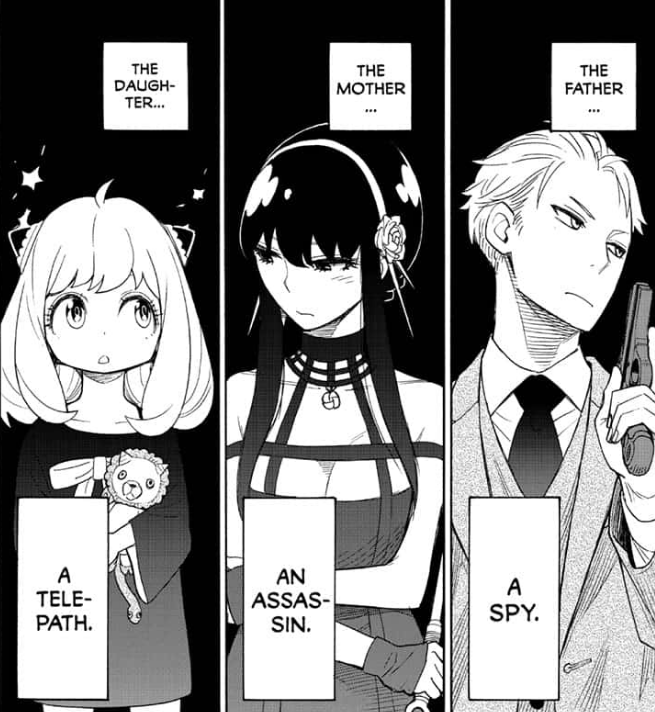 Personnage Spy x Family