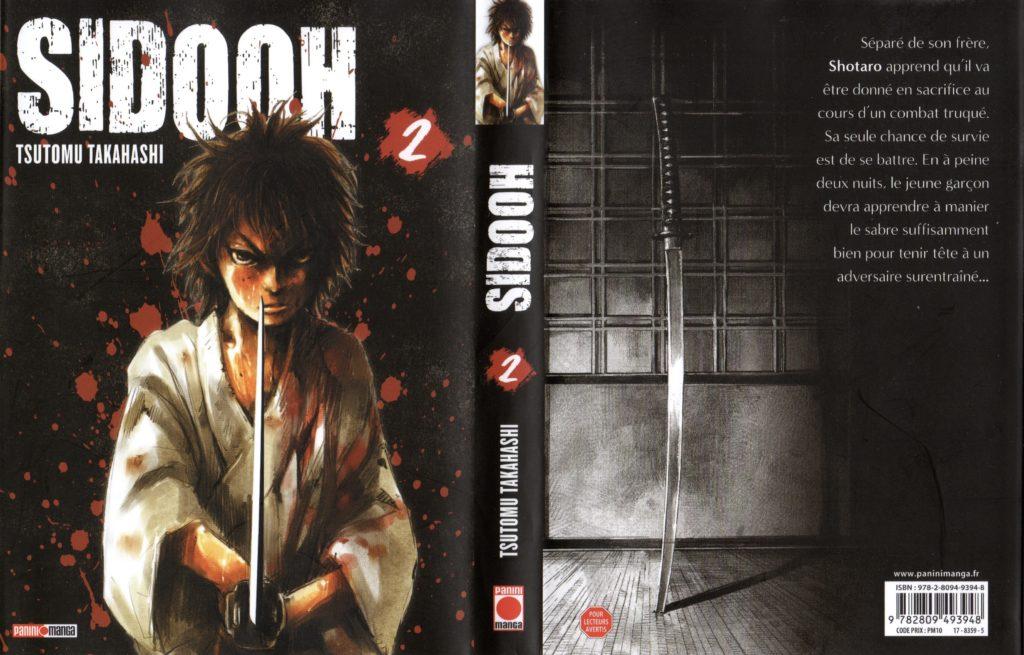 Jaquette Les Trésors du Nain Sidooh Tome 2 Panini Manga Review Avis Critique