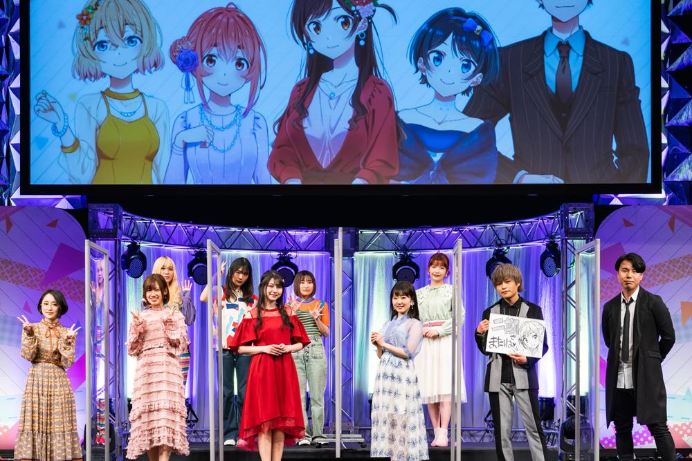 Kanojo Okarishimasu rent a girlfriend saison 2 Crunchyroll Anime Digital Network date annonce 2022 Miyama Reiji