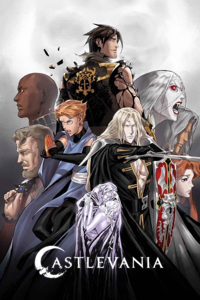 Castlevania S4 Saison 4 affiche anime Netflix Powerhouse Studio