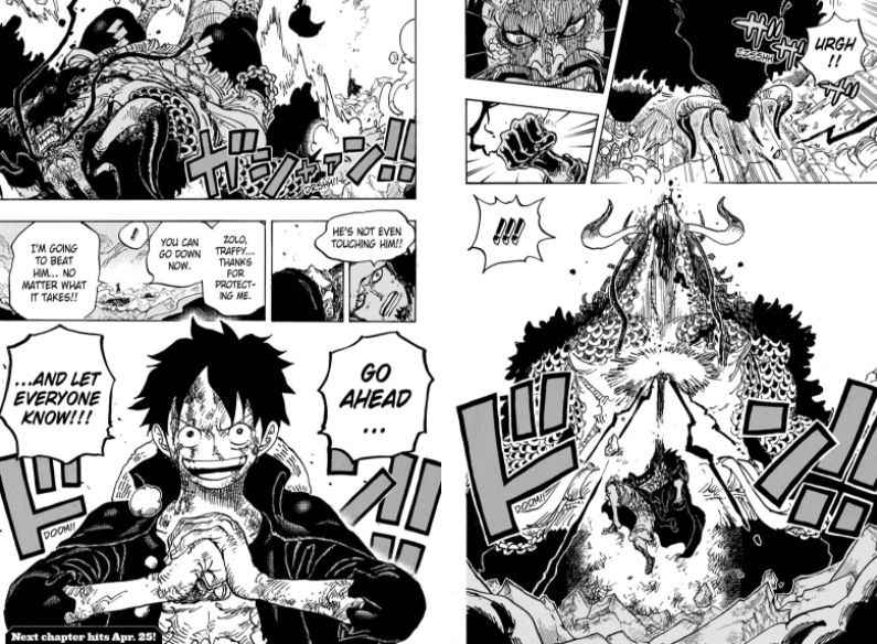 One Piece Scan Chapitre 1010 review avis critique zoro kaido luffy