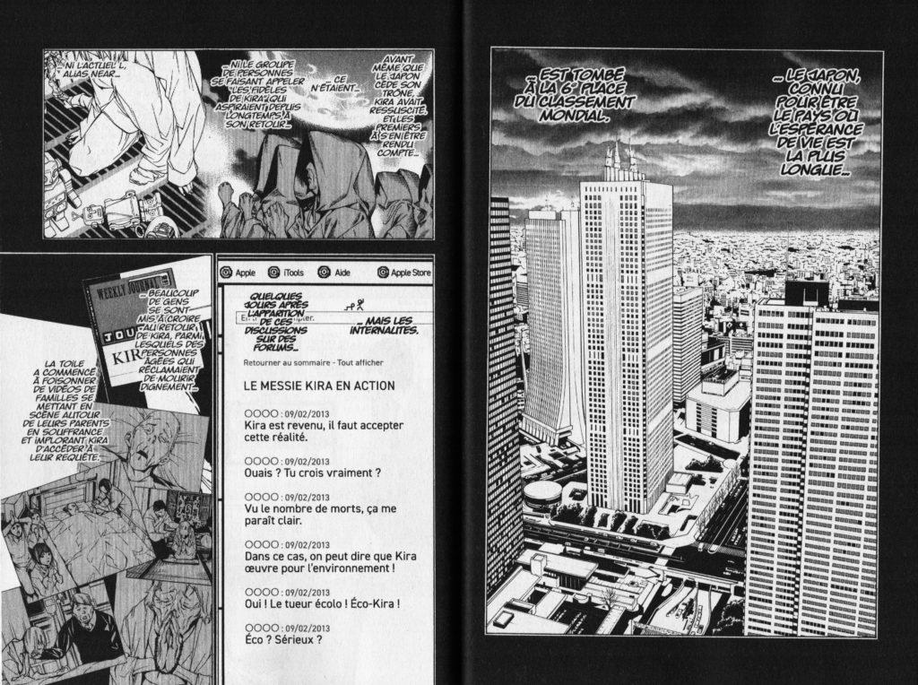 Les Trésors du Nain Death Note Short Stories Minoru Tanaka Ryuk Tsugumi Oba Takeshi Obata Kana Editions Extrait C Kira