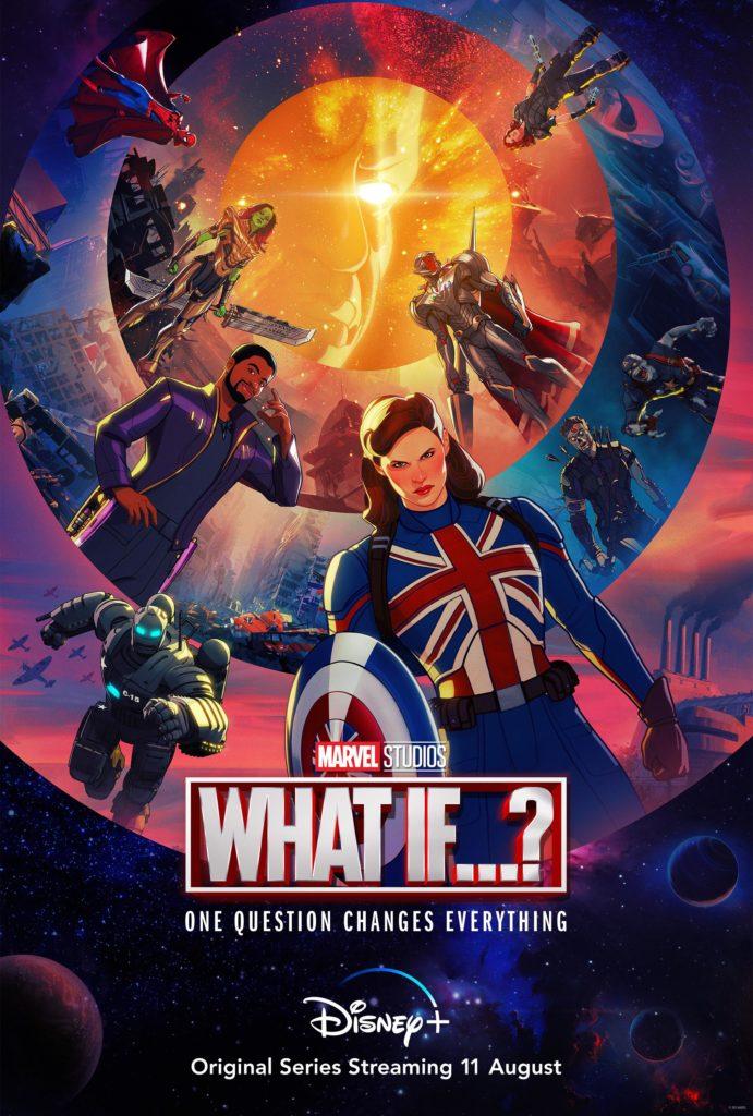 What if…? Marvel Studios Anime Série d'animation Disney + Date Sortie 11 août 2021 Trailer