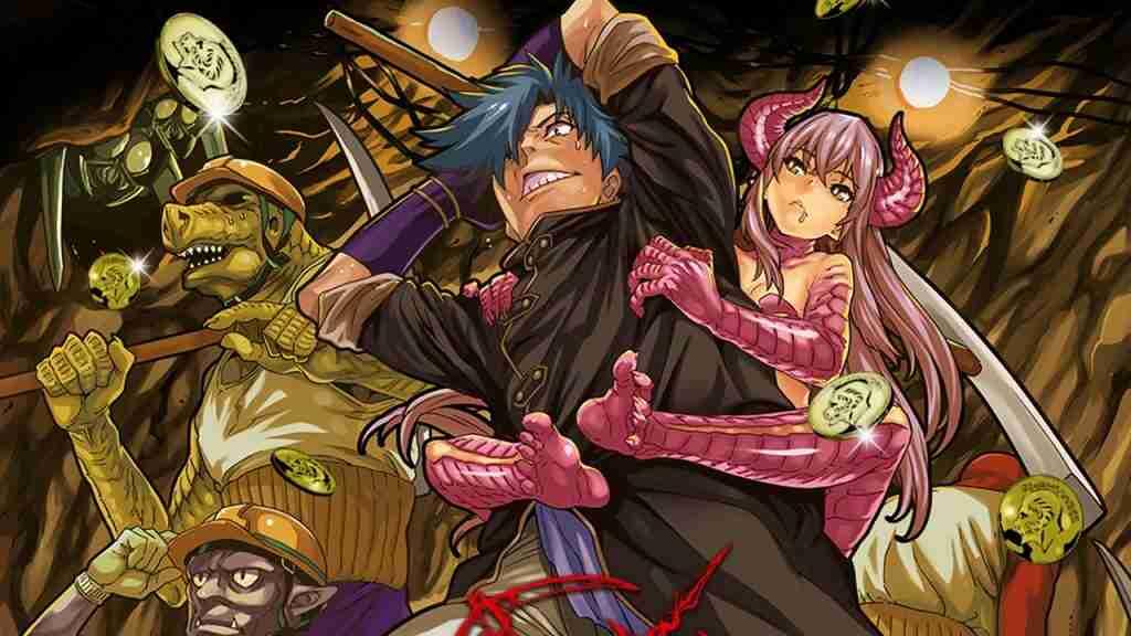 Animé été 2021 Avis Review Critique The Dungeon of Black Company Meikyuu Black Company Wakanim Komikku Les Trésors du Nain Trouvailles du Nain Isekai Fantasy