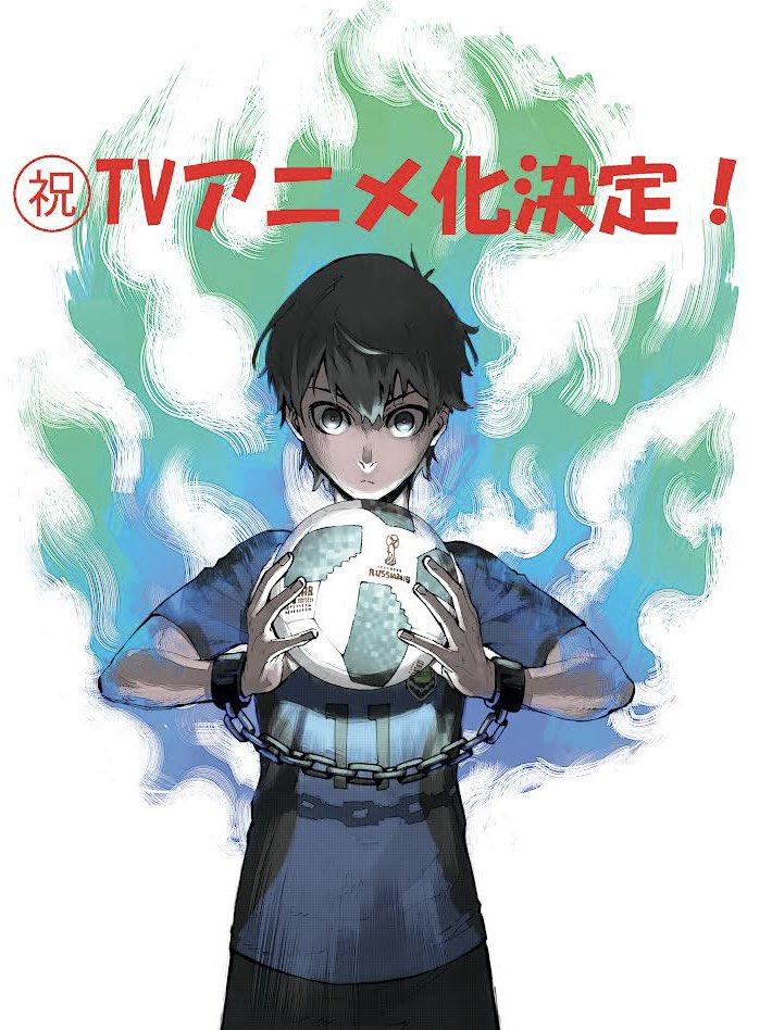 Blue Lock Adaptation Anime Annonce WSM Weekly Shonen Magazine 38 18 août 2021 studio 8bit Teaser