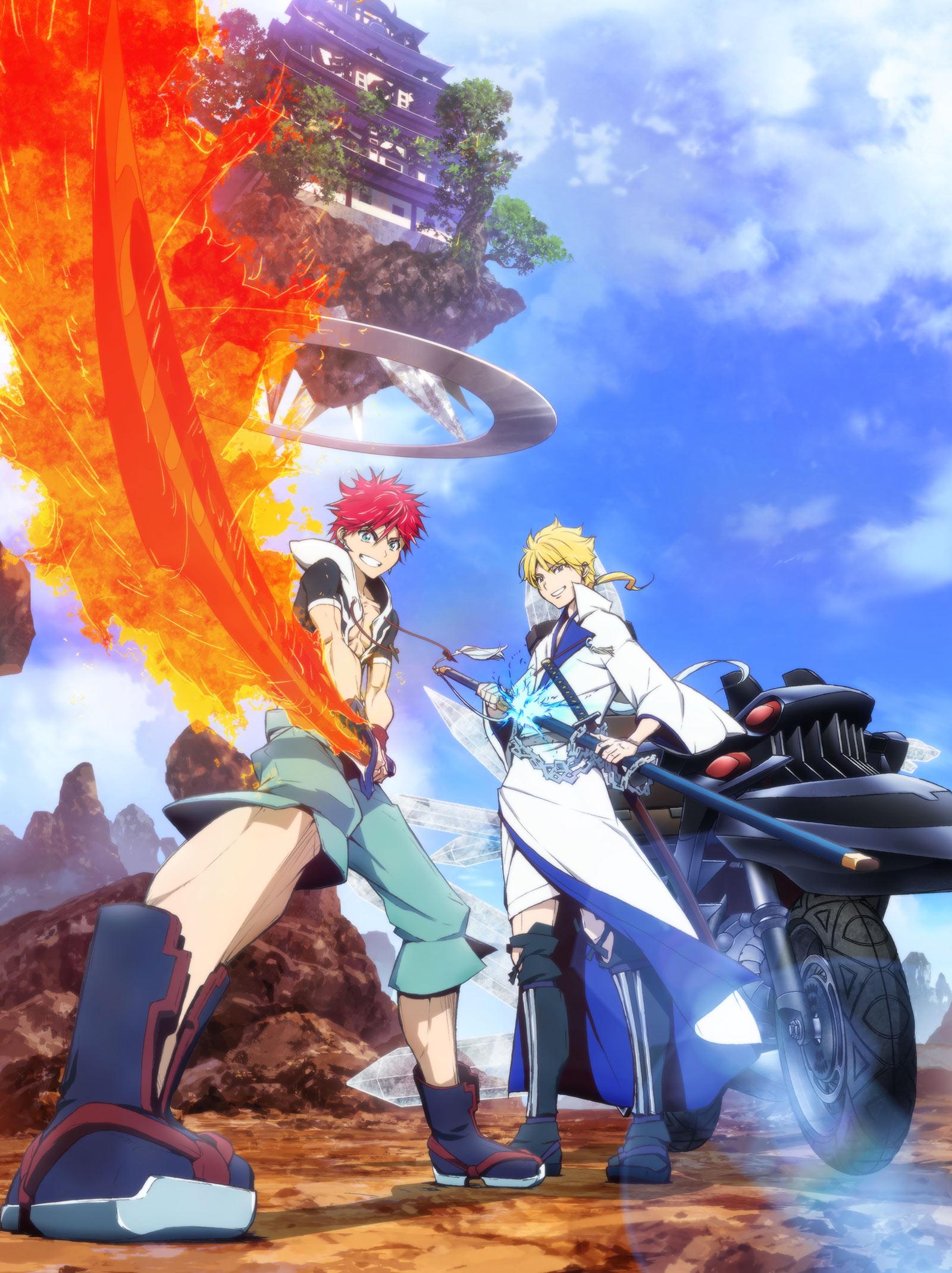 Orient Samurai Quest Teaser Shinobu Ohtaka Anime annonce Magi Studio ATCG Date de sortie 2022 Visuel