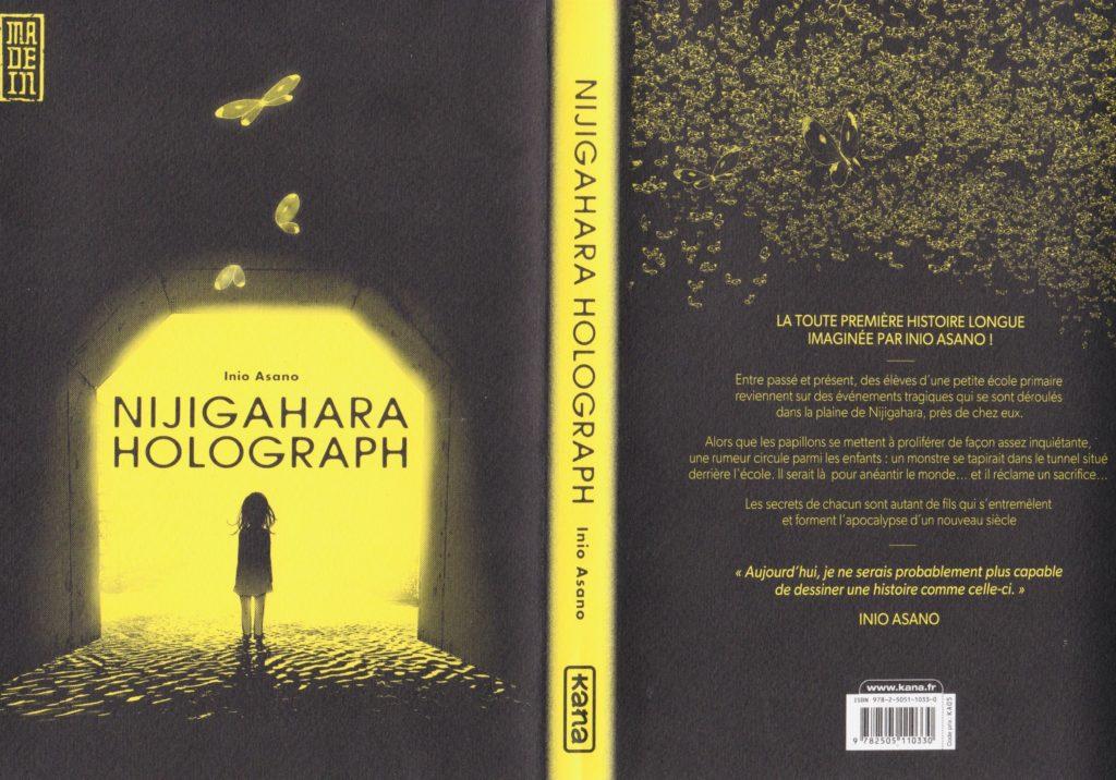 Les Trésors du Nain Nijigahara Holograph One Shot Inio Asano Avis Review Critique Kana éditions Cover Jaquette Couverture