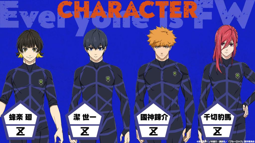 Blue Lock Adaptation Anime Annonce WSM Weekly Shonen Magazine 38 18 août 2021 studio 8bit Teaser Character design