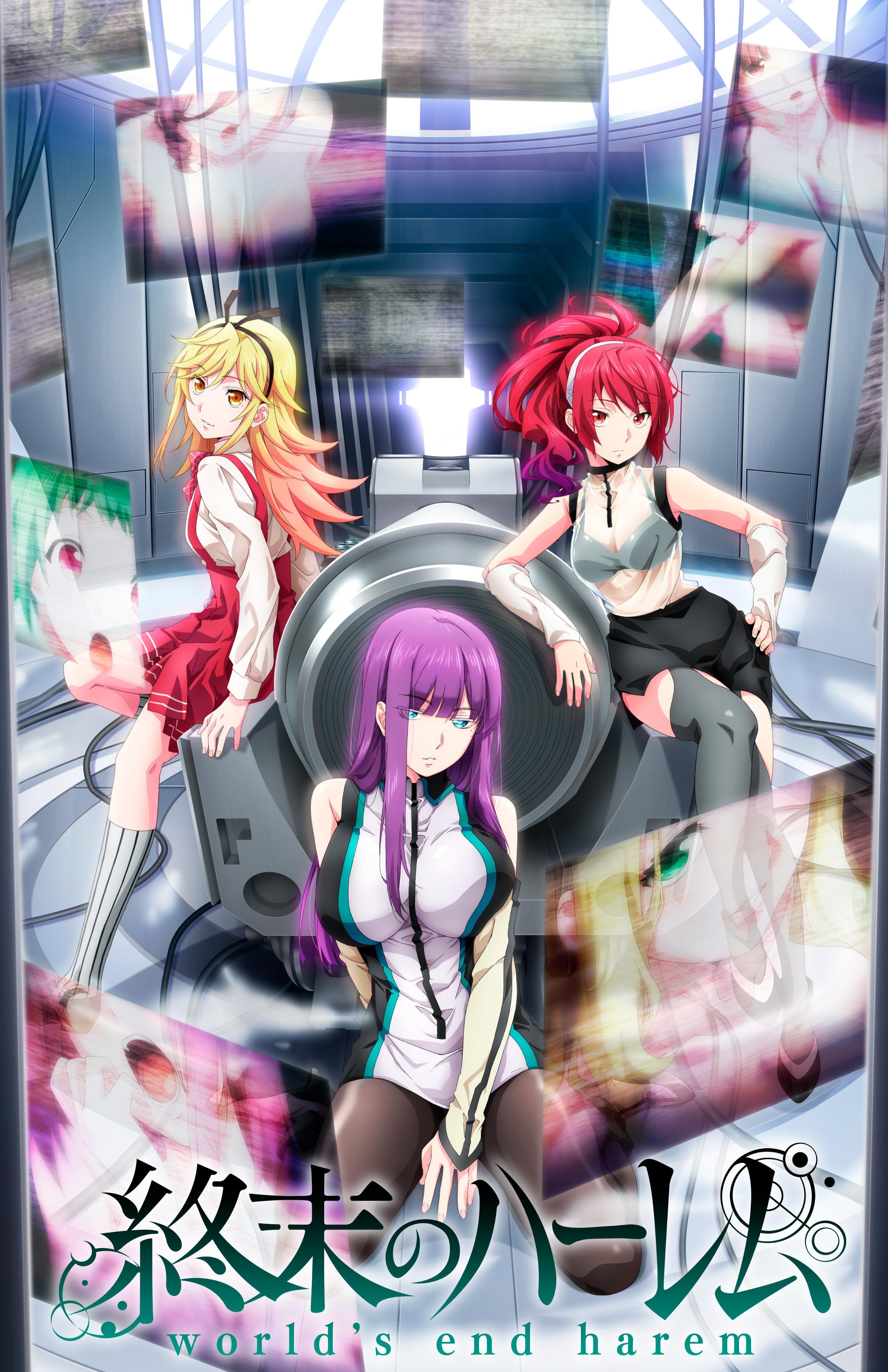 Trailer World's End Harem Shonen Ecchi Date de Sortie Octobre 2021 Automne Visuel promotionnel