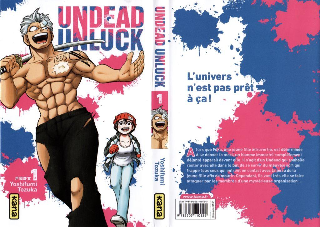 Undead Unluck Les Trésors du Nain Yoshifumi Tozuka Kana éditions Review Avis Critique tome 1