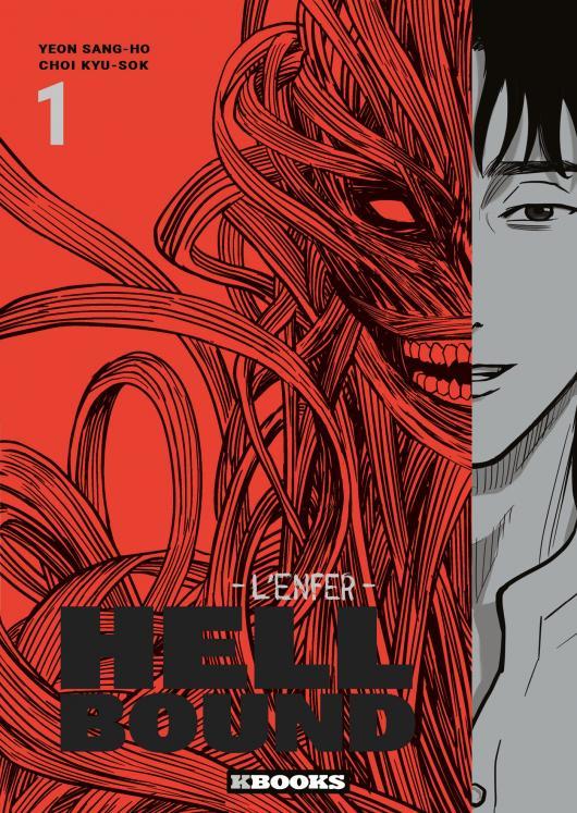 Hellbound - l'Enfer - Kbooks Date de Sortie française VF Yeon Sang-ho Choi Gyu-seok Dernier Train pour Busan Série live action Adaptation Netflix 10 novembre Webtoon