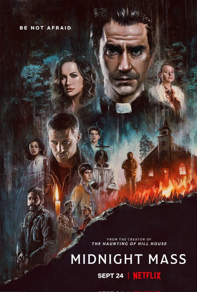 Trailer Sermons de Minuit Midnight Mass Mike Flanagan Netflix Mini Série Date de Sortie 24 septembre 2021 The Haunting of Hill House The Haunting of Bly Manor