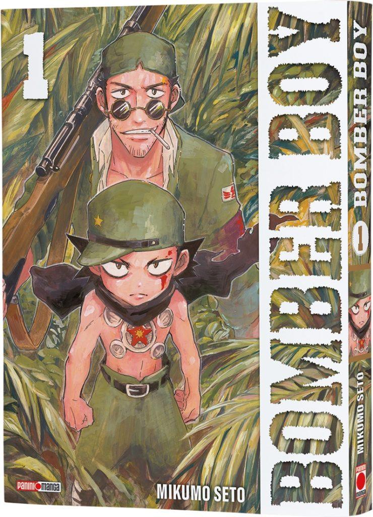 Bomber Boy Tome 1 Mikumo Seto Panini Manga Avis Review Critique Les Trésors du Nain