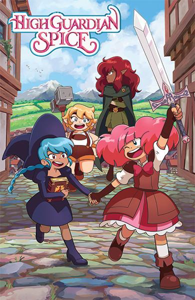 High Guardian Spice Crunchyroll Originals Trailer Crunchyroll Studios Automne 2021 Anime